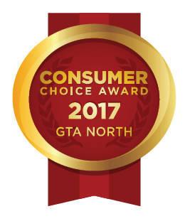 Consumers Choice Award 2017 GTA North